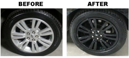 Chrome Wheels Before & After